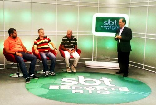 Debatendo com os integrantes do SBT Esporte Rio